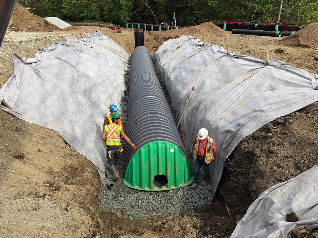Drainage et gestion des eaux pluviales