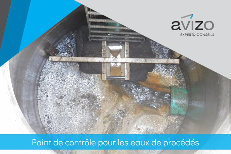 point de contrôle eaux de procédés - Avizo Experts-Conseils