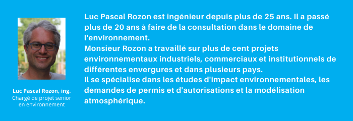 à propos de l'auteur, Luc-Pascal Rozon est un spécialiste de l'environnement chez Avizo Experts-Conseils