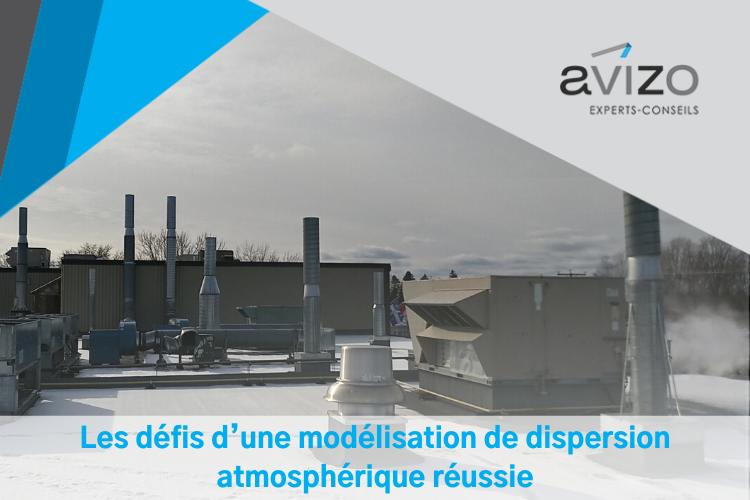 Sources d'émission atmosphérique sur le toit d'une usine - Avizo Experts-Conseils