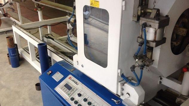 Machine d'extrusion de plastique